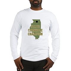 Illinois State Cornhole Champ Long Sleeve T-Shirt