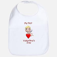 My First Valentines day (angel) Bib
