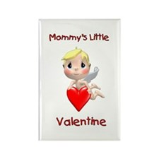 Mommy's Little Valentine (angel) Rectangle Magnet