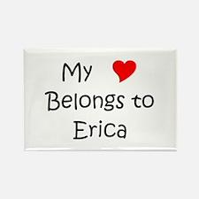Cute Erica Rectangle Magnet