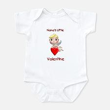 Nana's Little Valentine (angel) Infant Bodysuit