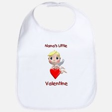 Nana's Little Valentine (angel) Bib