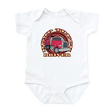 Dump Truck Driver2 Infant Bodysuit