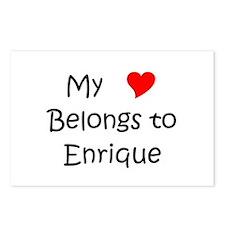 Unique Enrique Postcards (Package of 8)