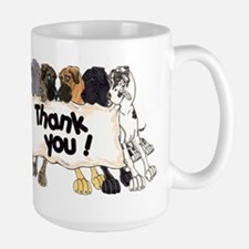 N6 Thank You Large Mug