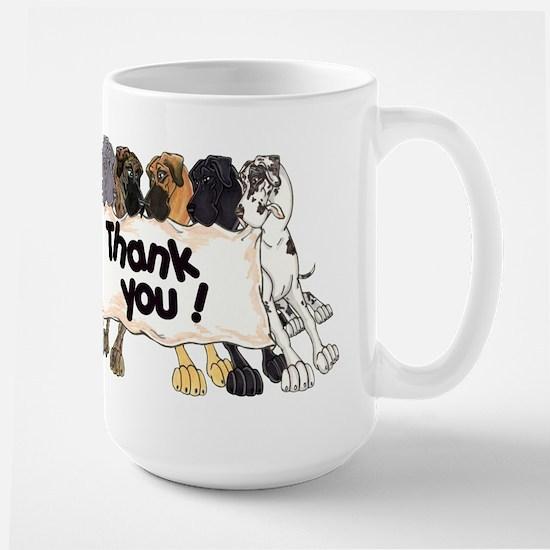 N6 Thank You Large Mug
