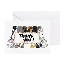 N6 Thank You Greeting Card