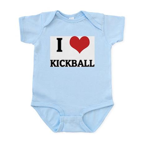I Love Kickball Infant Creeper