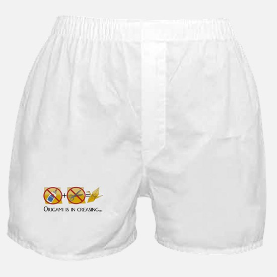Origami Rules Boxer Shorts