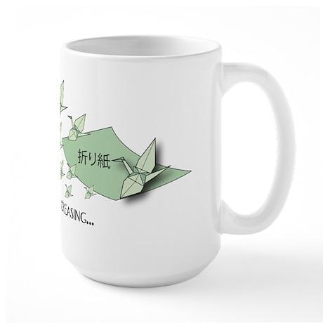 Large Origami Folding Mug