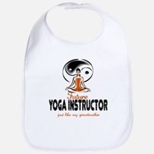 Future Yoga Instructor Like Grandma Baby Bib