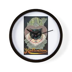 Charms of Halloween Wall Clock