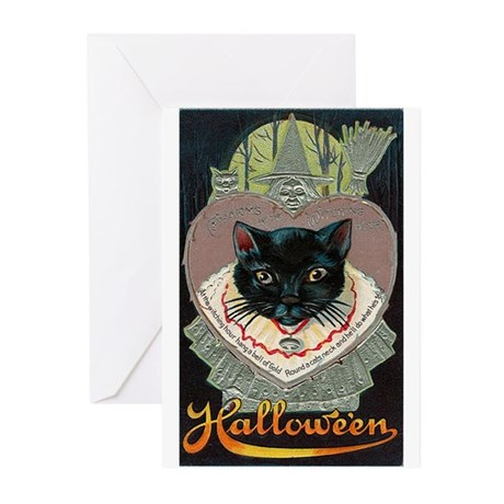 Charms of Halloween Greeting Cards (Pk of 20)