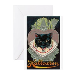 Charms of Halloween Greeting Cards (Pk of 10)