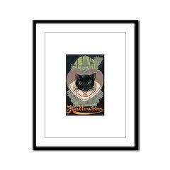 Charms of Halloween Framed Panel Print