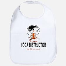 Future Yoga Instructor like Aunt Baby Infant Bib