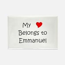 Unique Emmanuel Rectangle Magnet