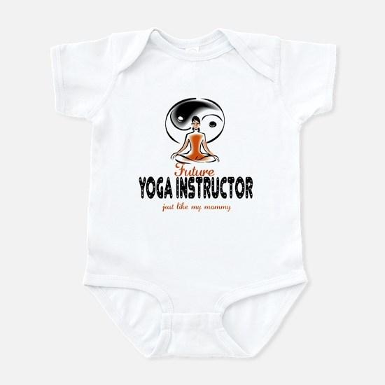 Future Yoga Instructor like Mom Infant Bodysuit