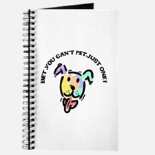 Can't Pet Just One Dog Journal