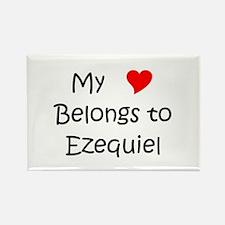 Cool Ezequiel Rectangle Magnet