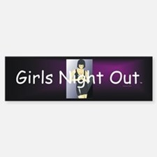 Girls Night Out Sticker (Bumper)