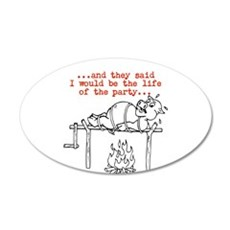 Roasted Pig Wall Decal