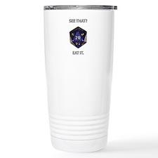 Eat It! Travel Coffee Mug