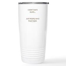 My character isn't gay... Travel Mug