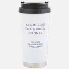 4.0 = Murder Travel Mug