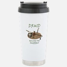 Druid - Beware the Squirrels Travel Mug