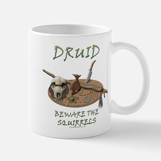 Druid - Beware the Squirrels Mug