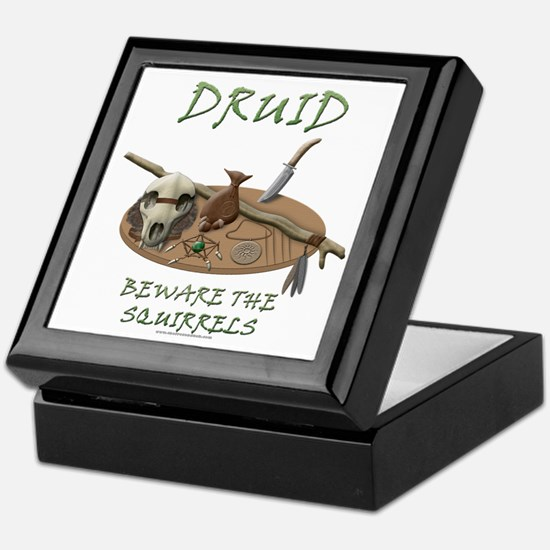 Druid - Beware the Squirrels Keepsake Box