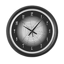 SpiderwebLarge Wall Clock