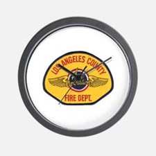 L.A. County Fire Air Ops Wall Clock