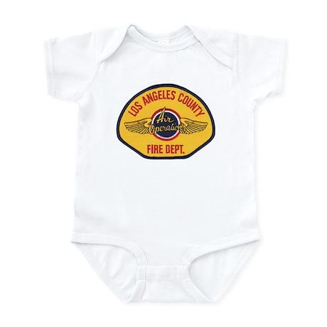 L.A. County Fire Air Ops Infant Bodysuit