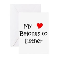 Funny Esther Greeting Cards (Pk of 20)