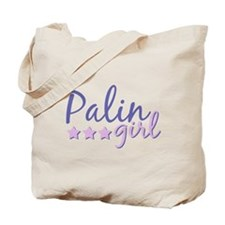 SARAH PALIN GIRL - PALIN GIRL 2008 Tote Bag