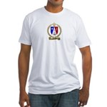 MELANSON2 Family Crest Fitted T-Shirt