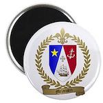 MELANSON2 Family Crest Magnet