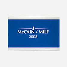 McCain / MILF Rectangle Magnet (100 pack)
