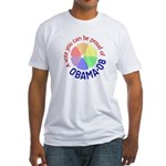 Proud of Obama Vote Fitted T-Shirt