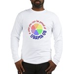 Proud of Obama Vote Long Sleeve T-Shirt