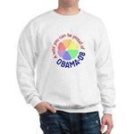Proud of Obama Vote Sweatshirt