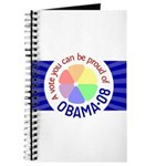 Proud of Obama Vote Journal