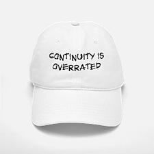 Continuity is overrated Baseball Baseball Cap