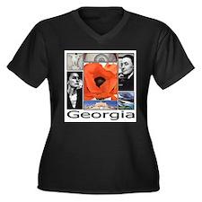 GeorgiaO HR Plus Size T-Shirt