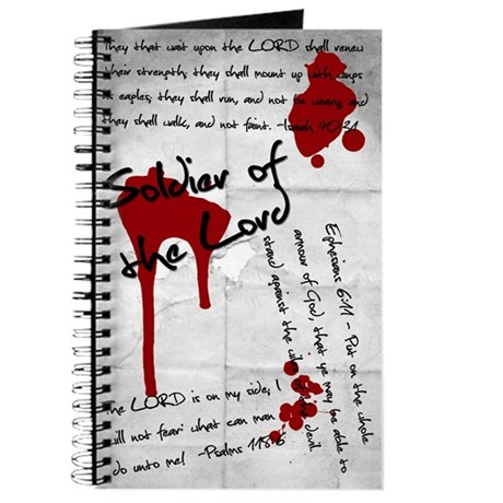 Soldier of the Lord misc scriptures Journal