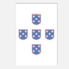 Portuguese Shields | Postcards (Package of 8)