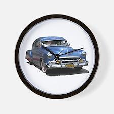 Helaine's 52 Old Blue Car Wall Clock