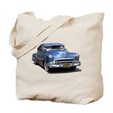 Helaine's 52 Old Blue Car Tote Bag